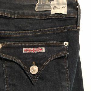 Hudson Skinny Crop Jean